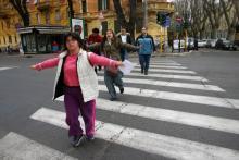 City walk with accompaniment